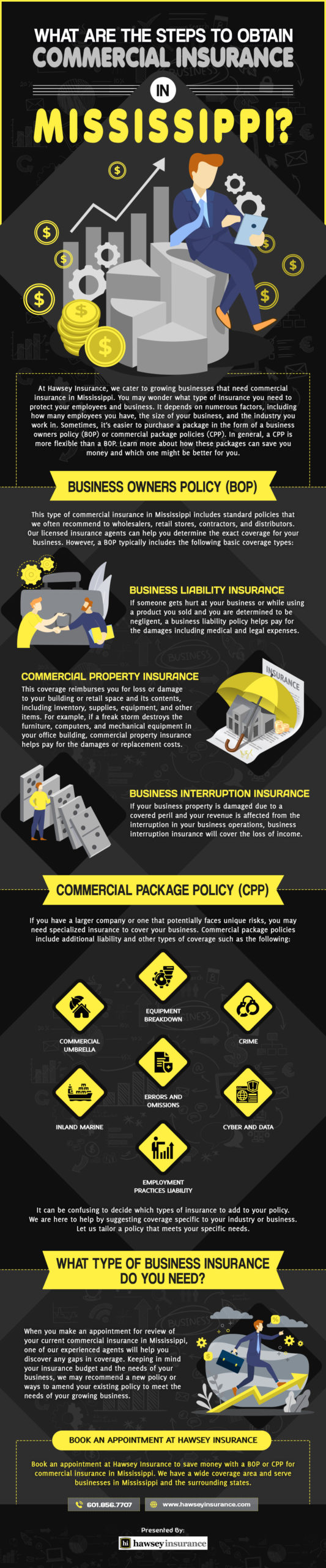 Commercial Insurance in Mississippi